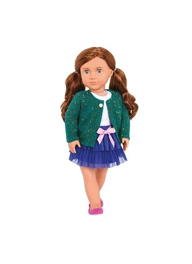Our Generation Our Generation Ruffle Skirt & Sweater Oyuncak Bebek Kıyafeti Renkli